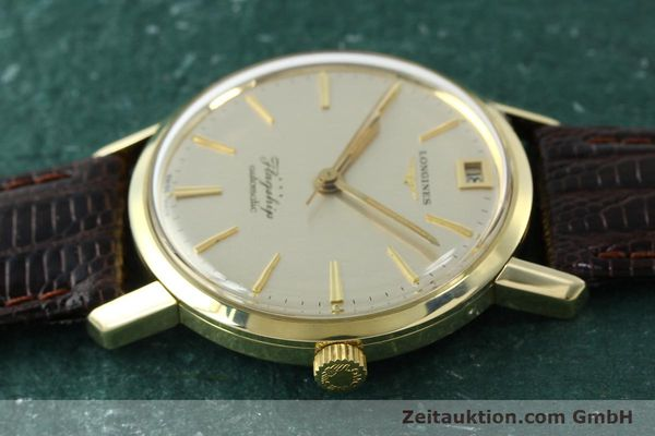 Used luxury watch Longines Flagship gold-plated automatic Kal. 341 VINTAGE  | 150943 05