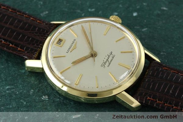 Used luxury watch Longines Flagship gold-plated automatic Kal. 341 VINTAGE  | 150943 13