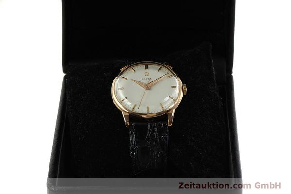 Used luxury watch Omega * 18 ct gold manual winding Kal. 284  | 150952 07