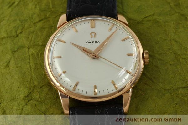 Used luxury watch Omega * 18 ct gold manual winding Kal. 284  | 150952 14
