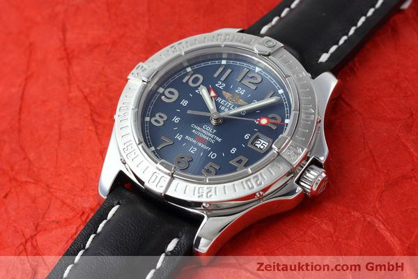 Used luxury watch Breitling Colt GMT steel automatic Kal. B32 ETA 2893-2 Ref. A32350  | 150953 01
