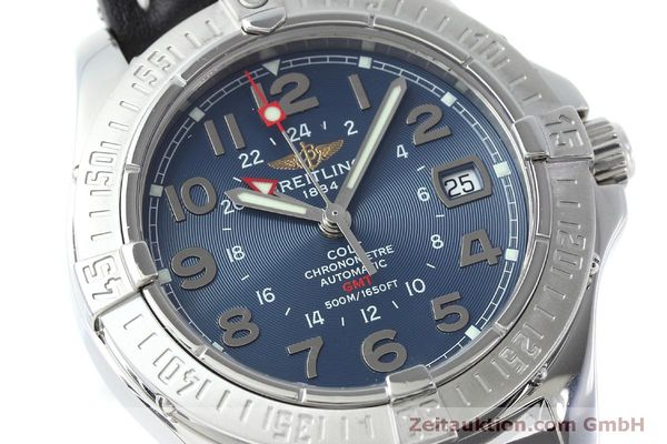 Used luxury watch Breitling Colt GMT steel automatic Kal. B32 ETA 2893-2 Ref. A32350  | 150953 02