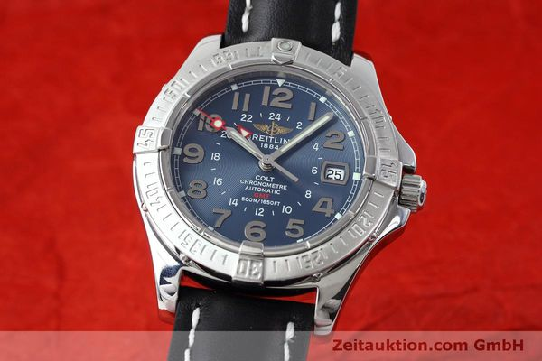 Used luxury watch Breitling Colt GMT steel automatic Kal. B32 ETA 2893-2 Ref. A32350  | 150953 04