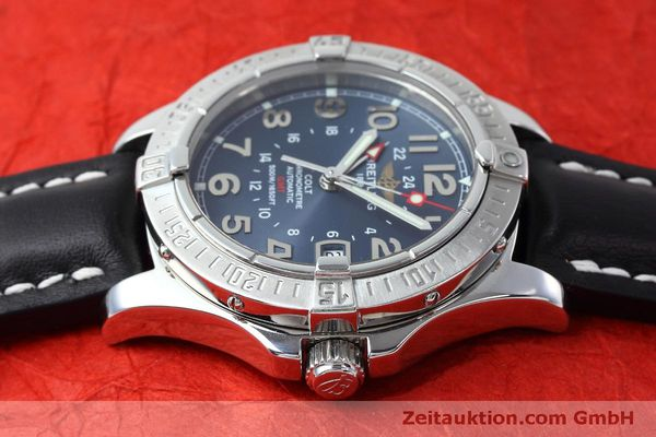 Used luxury watch Breitling Colt GMT steel automatic Kal. B32 ETA 2893-2 Ref. A32350  | 150953 05