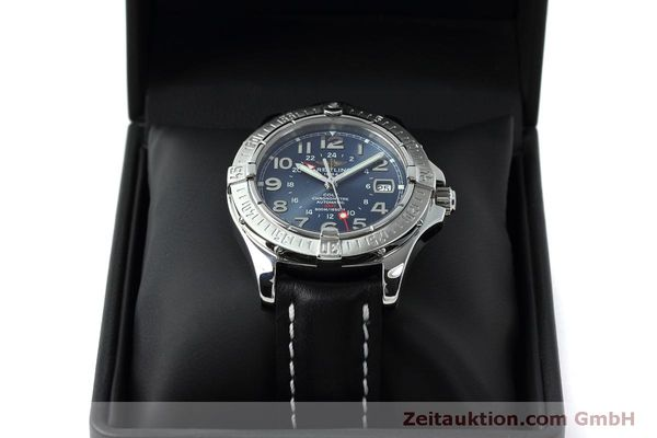 Used luxury watch Breitling Colt GMT steel automatic Kal. B32 ETA 2893-2 Ref. A32350  | 150953 07