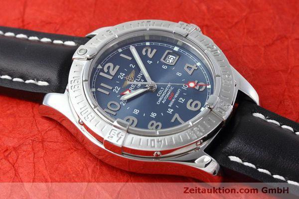 Used luxury watch Breitling Colt GMT steel automatic Kal. B32 ETA 2893-2 Ref. A32350  | 150953 13