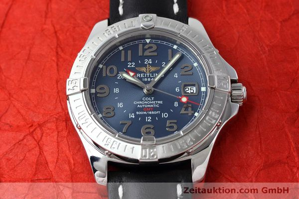 Used luxury watch Breitling Colt GMT steel automatic Kal. B32 ETA 2893-2 Ref. A32350  | 150953 14