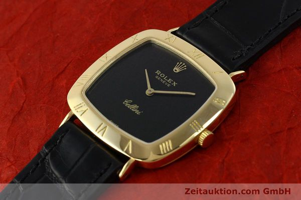 Used luxury watch Rolex Cellini 18 ct gold manual winding Kal. 1600 Ref. 3830J  | 150958 01