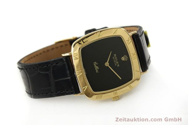 Used luxury watch Rolex Cellini 18 ct gold manual winding Kal. 1600 Ref. 3830J  | 150958 03