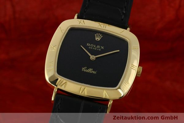 Used luxury watch Rolex Cellini 18 ct gold manual winding Kal. 1600 Ref. 3830J  | 150958 04