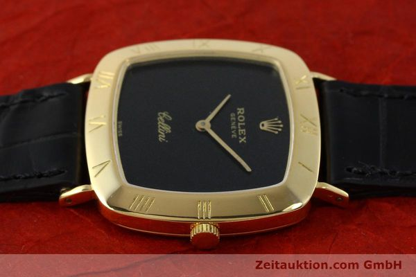 Used luxury watch Rolex Cellini 18 ct gold manual winding Kal. 1600 Ref. 3830J  | 150958 05
