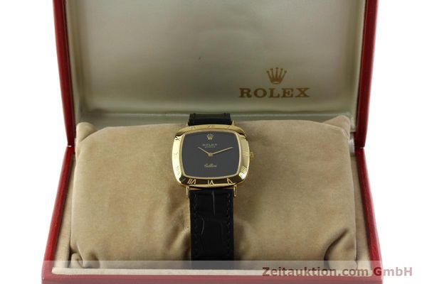 Used luxury watch Rolex Cellini 18 ct gold manual winding Kal. 1600 Ref. 3830J  | 150958 07