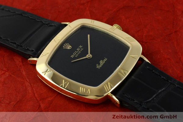 Used luxury watch Rolex Cellini 18 ct gold manual winding Kal. 1600 Ref. 3830J  | 150958 15