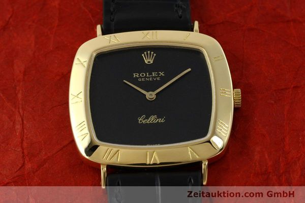 Used luxury watch Rolex Cellini 18 ct gold manual winding Kal. 1600 Ref. 3830J  | 150958 16