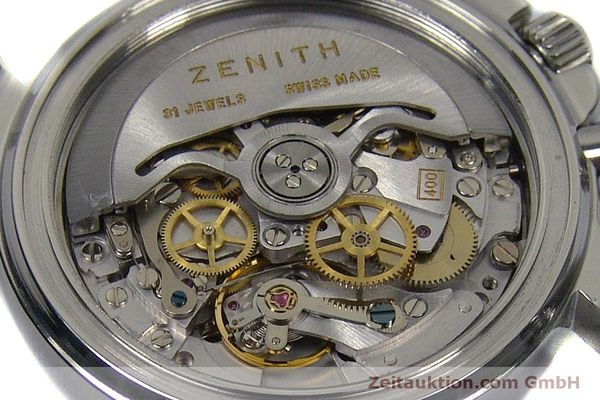 Used luxury watch Zenith Elprimero chronograph steel automatic Kal. 400 Ref. 02-0370-400  | 150959 10