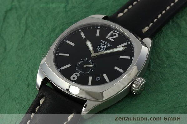 Used luxury watch Tag Heuer Monza steel automatic Kal. 6 ETA 2895-2 Ref. WR2110  | 150965 01