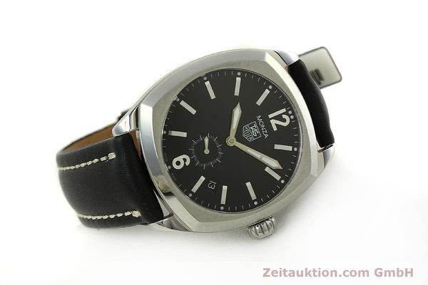 Used luxury watch Tag Heuer Monza steel automatic Kal. 6 ETA 2895-2 Ref. WR2110  | 150965 03