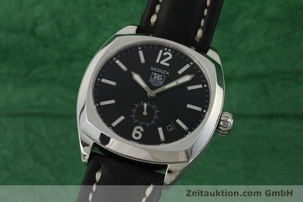 Used luxury watch Tag Heuer Monza steel automatic Kal. 6 ETA 2895-2 Ref. WR2110  | 150965 04