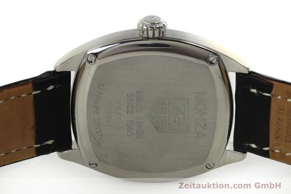 Used luxury watch Tag Heuer Monza steel automatic Kal. 6 ETA 2895-2 Ref. WR2110  | 150965 09
