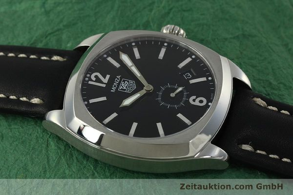 Used luxury watch Tag Heuer Monza steel automatic Kal. 6 ETA 2895-2 Ref. WR2110  | 150965 11