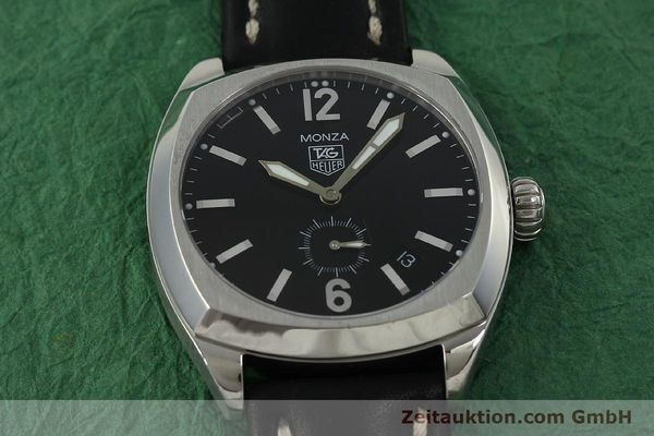 Used luxury watch Tag Heuer Monza steel automatic Kal. 6 ETA 2895-2 Ref. WR2110  | 150965 12