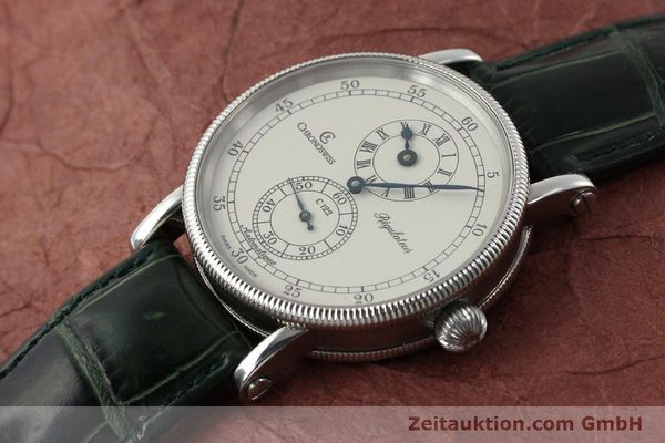 Used luxury watch Chronoswiss Regulateur steel automatic Kal. C122 Ref. CH1223  | 150966 01