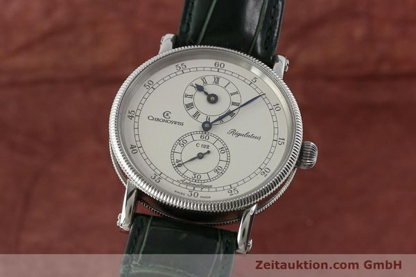 Used luxury watch Chronoswiss Regulateur steel automatic Kal. C122 Ref. CH1223  | 150966 04
