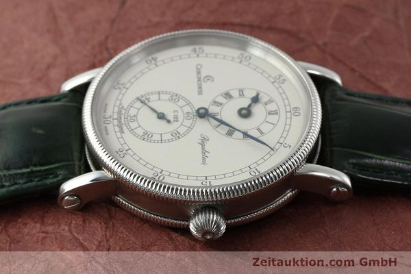 montre de luxe d occasion Chronoswiss Regulateur acier automatique Kal. C122 Ref. CH1223  | 150966 05