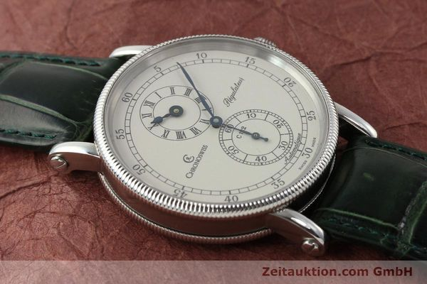 Used luxury watch Chronoswiss Regulateur steel automatic Kal. C122 Ref. CH1223  | 150966 14