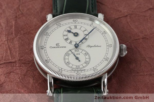 Used luxury watch Chronoswiss Regulateur steel automatic Kal. C122 Ref. CH1223  | 150966 15