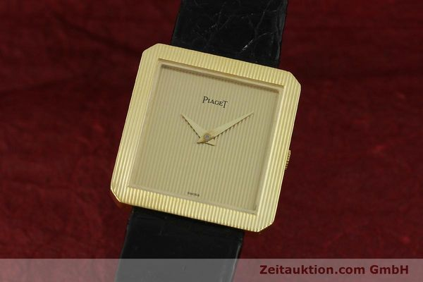 Used luxury watch Piaget * 18 ct gold manual winding Kal. 9P2 Ref. 9154  | 150967 04