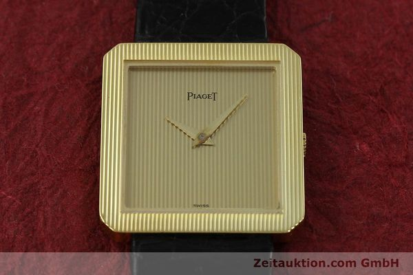 Used luxury watch Piaget * 18 ct gold manual winding Kal. 9P2 Ref. 9154  | 150967 15