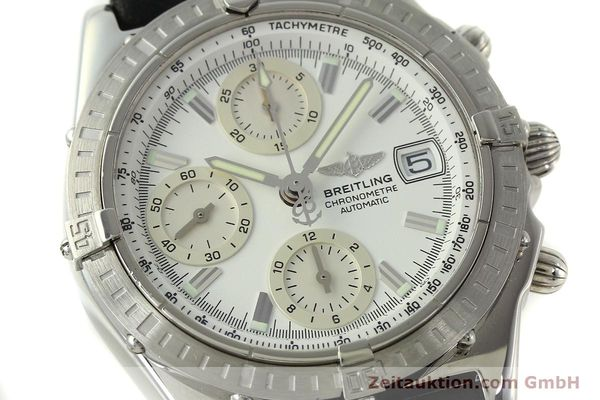 Used luxury watch Breitling Chronomat chronograph steel automatic Kal. B13 ETA 7750 Ref. A13352  | 150971 02