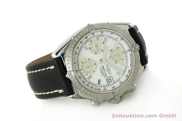 Used luxury watch Breitling Chronomat chronograph steel automatic Kal. B13 ETA 7750 Ref. A13352  | 150971 03
