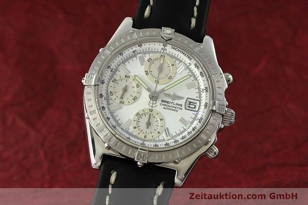 Used luxury watch Breitling Chronomat chronograph steel automatic Kal. B13 ETA 7750 Ref. A13352  | 150971 04