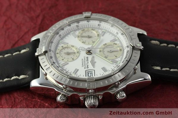 Used luxury watch Breitling Chronomat chronograph steel automatic Kal. B13 ETA 7750 Ref. A13352  | 150971 05