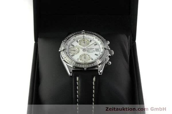 Used luxury watch Breitling Chronomat chronograph steel automatic Kal. B13 ETA 7750 Ref. A13352  | 150971 07
