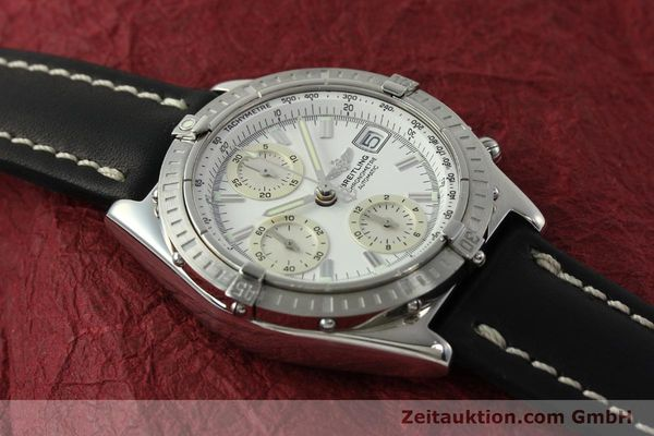 Used luxury watch Breitling Chronomat chronograph steel automatic Kal. B13 ETA 7750 Ref. A13352  | 150971 15