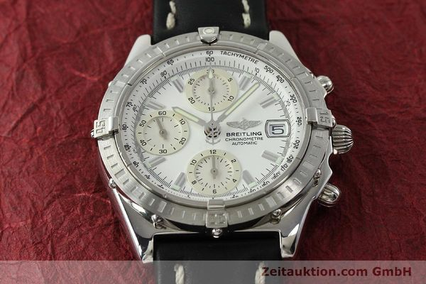 Used luxury watch Breitling Chronomat chronograph steel automatic Kal. B13 ETA 7750 Ref. A13352  | 150971 16