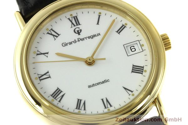 Used luxury watch Girard Perregaux * 18 ct gold automatic Kal. 220 Ref. 4799.51  | 150978 02
