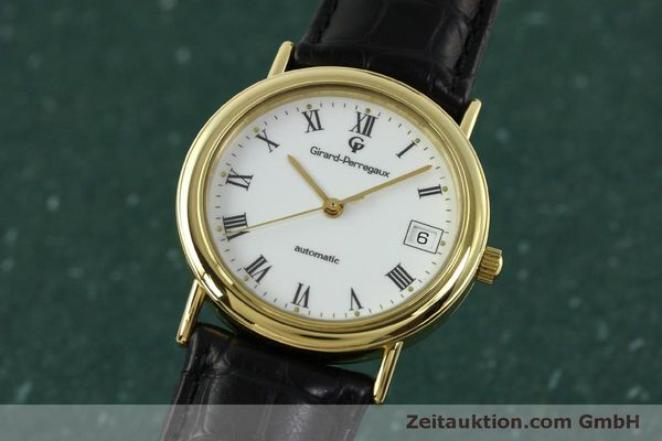 Used luxury watch Girard Perregaux * 18 ct gold automatic Kal. 220 Ref. 4799.51  | 150978 04
