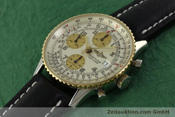 Used luxury watch Breitling Navitimer chronograph steel / gold automatic Kal. B13 ETA 7750 Ref. D13020  | 150979 01