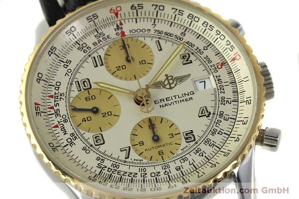Used luxury watch Breitling Navitimer chronograph steel / gold automatic Kal. B13 ETA 7750 Ref. D13020  | 150979 02
