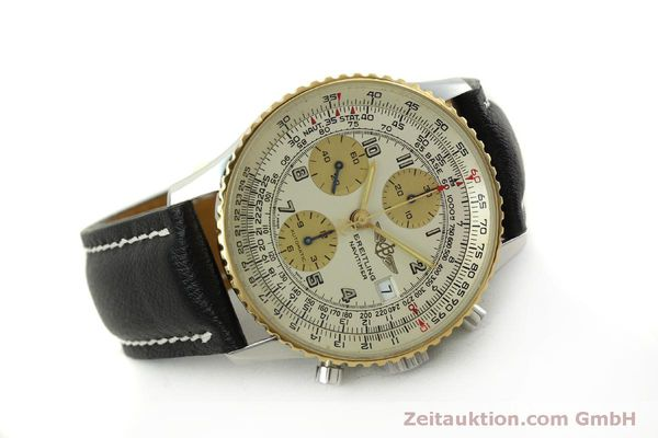 Used luxury watch Breitling Navitimer chronograph steel / gold automatic Kal. B13 ETA 7750 Ref. D13020  | 150979 03