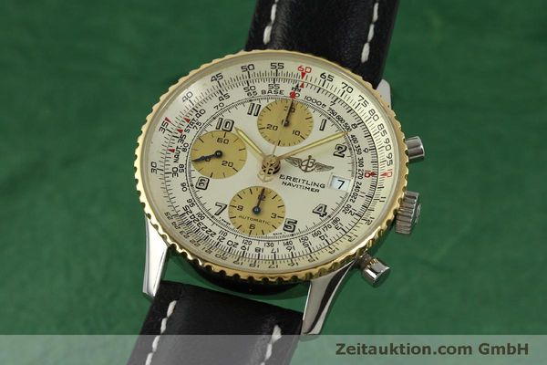 Used luxury watch Breitling Navitimer chronograph steel / gold automatic Kal. B13 ETA 7750 Ref. D13020  | 150979 04