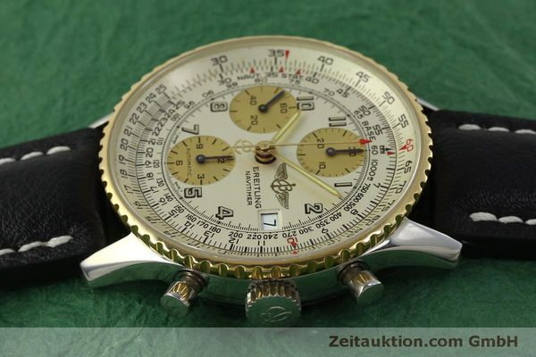 Used luxury watch Breitling Navitimer chronograph steel / gold automatic Kal. B13 ETA 7750 Ref. D13020  | 150979 05