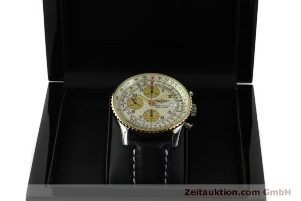Used luxury watch Breitling Navitimer chronograph steel / gold automatic Kal. B13 ETA 7750 Ref. D13020  | 150979 07