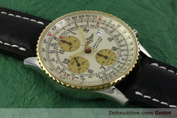 Used luxury watch Breitling Navitimer chronograph steel / gold automatic Kal. B13 ETA 7750 Ref. D13020  | 150979 13