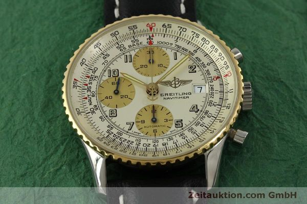 Used luxury watch Breitling Navitimer chronograph steel / gold automatic Kal. B13 ETA 7750 Ref. D13020  | 150979 14