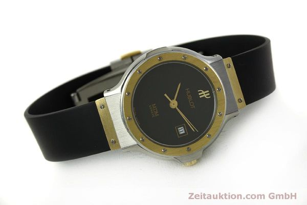 Used luxury watch Hublot MDM steel / gold quartz Kal. ETA 956.112 Ref. 1393.2  | 150980 03